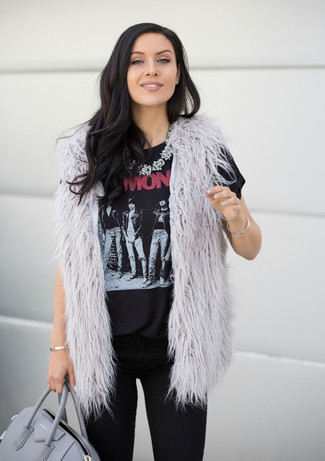 Collana trasparente di Krystal