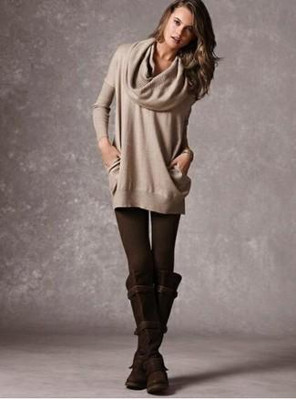 comprare popolare ad6f5 64636 Look alla moda per donna: Maglione con scollo a cappuccio ...
