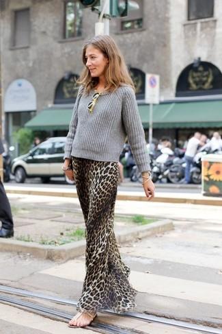 2ae32ea5fa26 Come indossare un vestito leopardato (25 foto)
