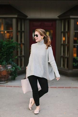 nuovi stili 8509b 7f41c Look alla moda per donna: Maglione oversize lavorato a ...