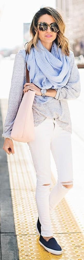 Borsa shopping in pelle rosa di Zanellato