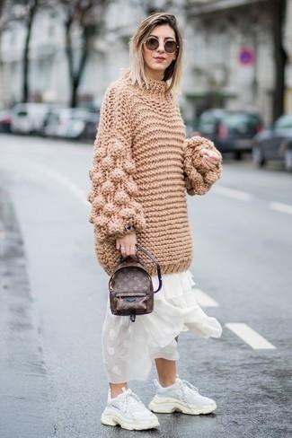 nuovi stili 40781 bd212 Look alla moda per donna: Maglione oversize lavorato a ...
