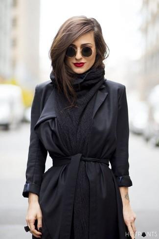 Cappotto nero di Ichi