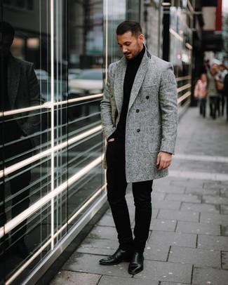 stivaletto e cappotto uomo