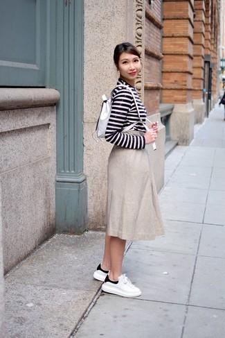 best website a4fbe e9c1b Look alla moda per donna: T-shirt manica lunga con ...