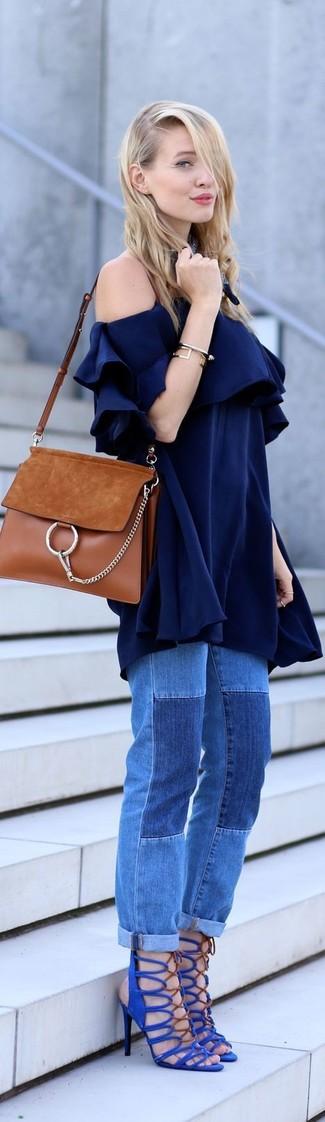 Camicetta blu scuro di Vero Moda