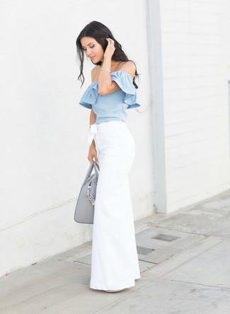 Camicetta azzurra di Vero Moda