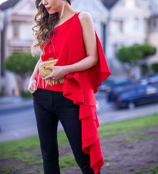 Camicetta rossa di Tantra