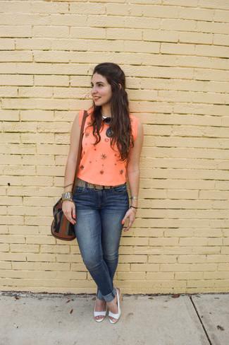 Camicetta arancione di s.Oliver Denim
