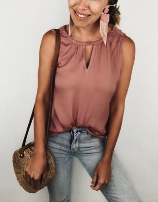 Camicetta rosa di Jennyfer