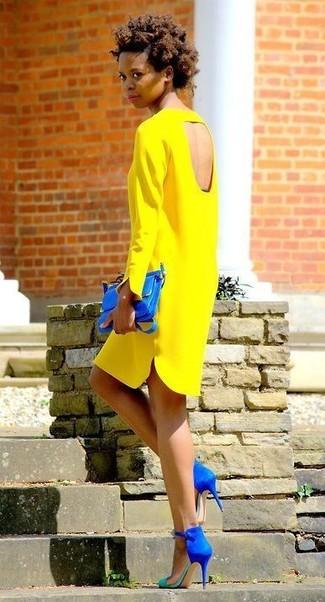 finest selection 1d027 ba4db Come indossare e abbinare un vestito giallo (272 foto ...