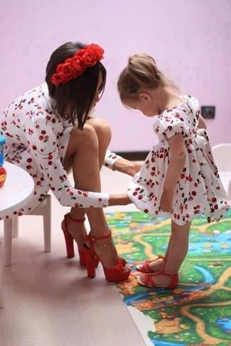 Come indossare e abbinare sandali rossi: