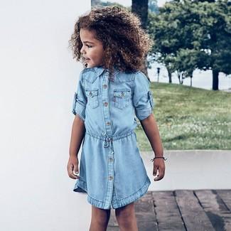 8843e741f2827 Come indossare un vestito di jeans (5 foto)