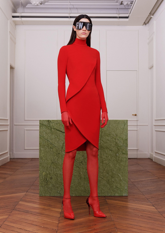 competitive price 3bb01 75efc Come indossare e abbinare un vestito di maglia rosso (22 ...