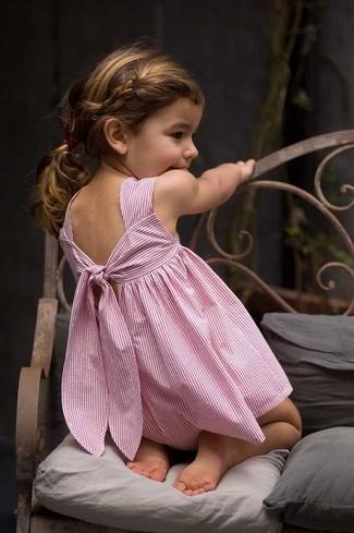 Come indossare: vestito rosa
