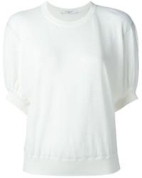 Maglione a maniche corte bianco di Givenchy