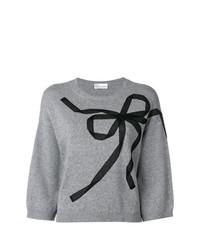 Maglione a maniche corte grigio di RED Valentino