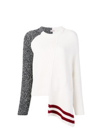 Maglione a trecce bianco di MRZ