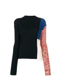 Maglione a trecce nero di Calvin Klein 205W39nyc