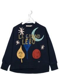 Maglione blu scuro di Bobo Choses