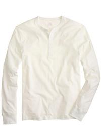 Maglione con collo serafino bianco