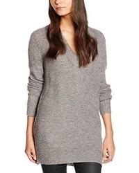 Maglione con scollo a v grigio di Vero Moda