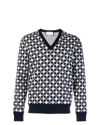 online store d5a2b 9d47c maglione gucci uomo bianco cardigan collo a v 70b4254ec ...