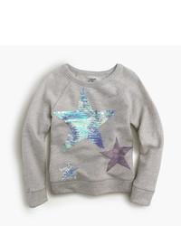 Maglione con stelle grigio