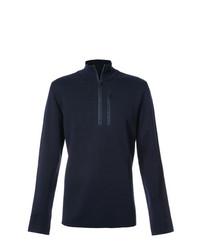 Maglione con zip blu scuro di Aztech Mountain
