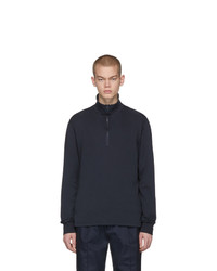 Maglione con zip blu scuro di Barena