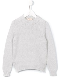 Maglione di lana bianco