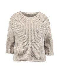 Maglione girocollo beige di Friday's Project