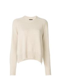 Maglione girocollo beige di Isabel Marant