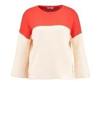 Maglione girocollo beige di KIOMI