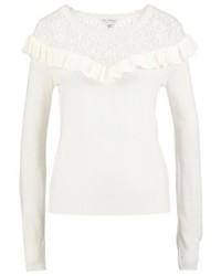 Maglione girocollo beige di Miss Selfridge
