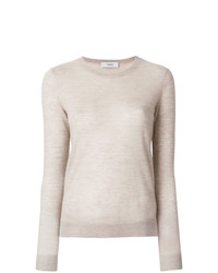 Maglione girocollo beige di Pringle Of Scotland