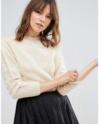 Maglione girocollo beige di YMC