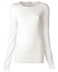 Maglione girocollo bianco
