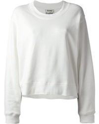 Maglione girocollo bianco di Acne Studios