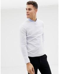 Maglione girocollo bianco di ASOS DESIGN