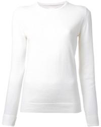 Maglione girocollo bianco di CITYSHOP