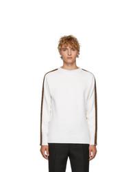 Maglione girocollo bianco di Fendi