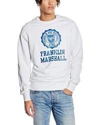 Maglione girocollo bianco di Franklin & Marshall