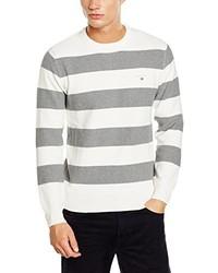 Maglione girocollo bianco di Gant