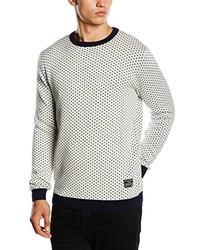 Maglione girocollo bianco di Jack & Jones