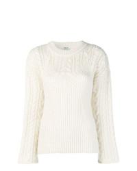 Maglione girocollo bianco di Kenzo