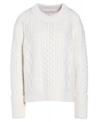 Maglione girocollo bianco di Michael Kors