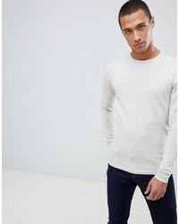 Maglione girocollo bianco di Threadbare