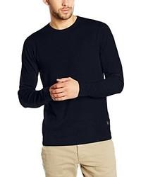Maglione girocollo blu scuro di Jack & Jones