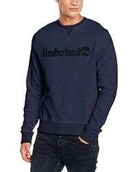 Maglione girocollo blu scuro di Timberland